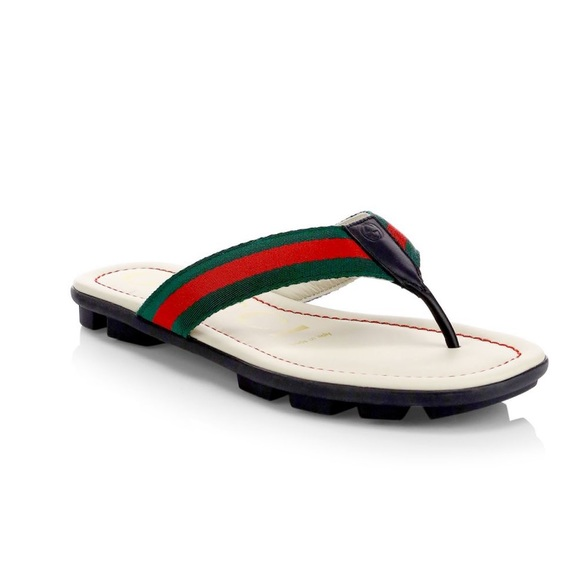 88c884fa1 Gucci Shoes | Titan Web Leather Sandals Toddlerkids | Poshmark